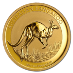 reverse of australian gold nugget coin