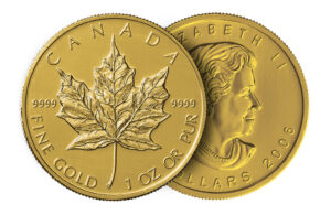 canadian maple leaf coin