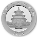 obverse of chinese panda coin