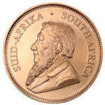 obverse of  south african krugerrand