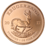 reverse of south african krugerrand coin