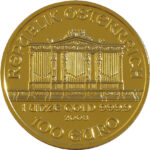 obverse of vienna philharmonic coin