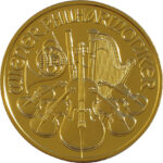 reverse of vienna philharmonic coin
