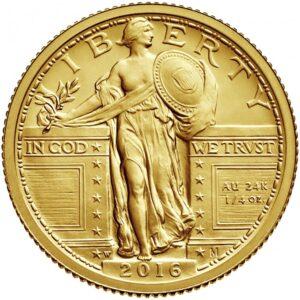 2016 standing liberty centennial gold coin